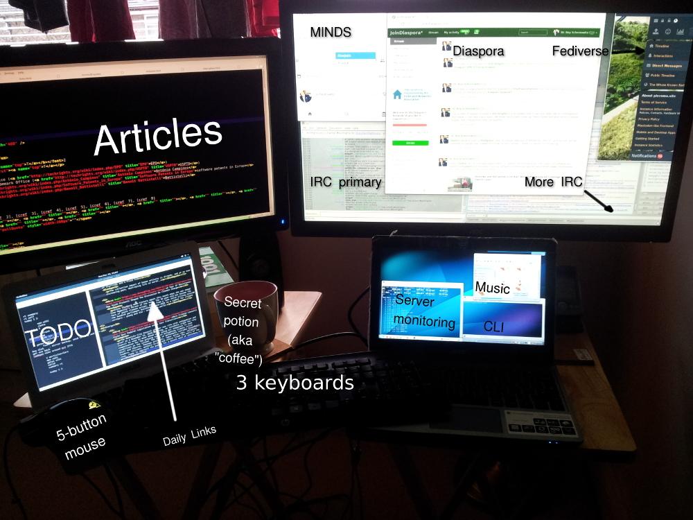 Roy's desktop