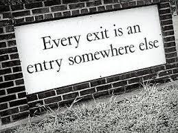 exit-entrance