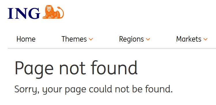 ING not found