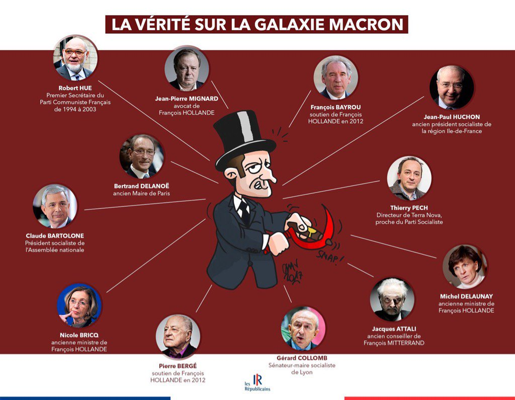 Macron galaxy