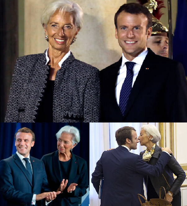 Macron and Lagarde