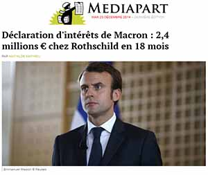 Mediapart on Macron, Rothschild