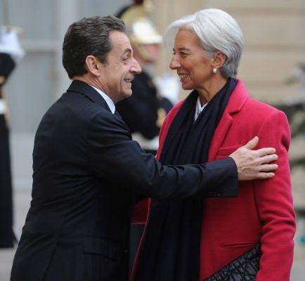 Sarko, Lagarde