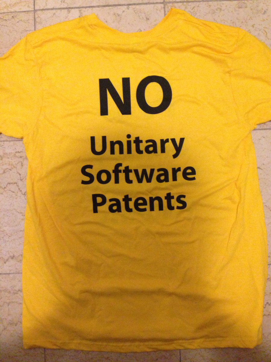 The unitary software patents
