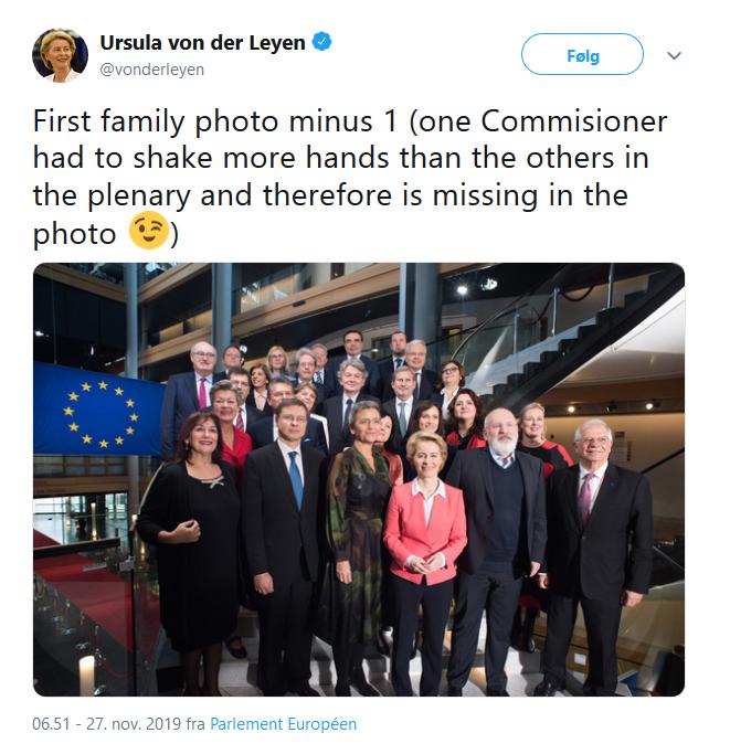 Ursula's tweet