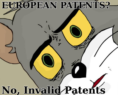 European Patents? No, Invalid Patents