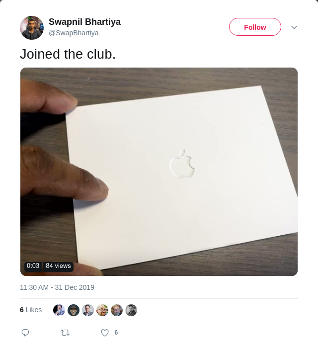 Joined Apple