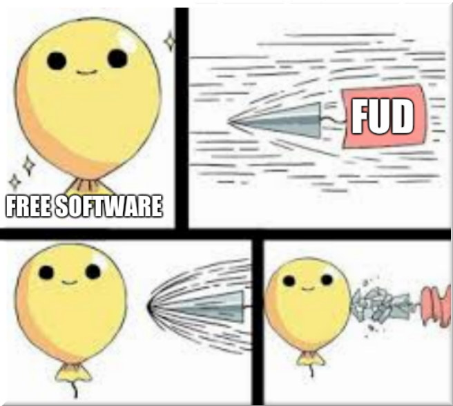 Free Software FUD