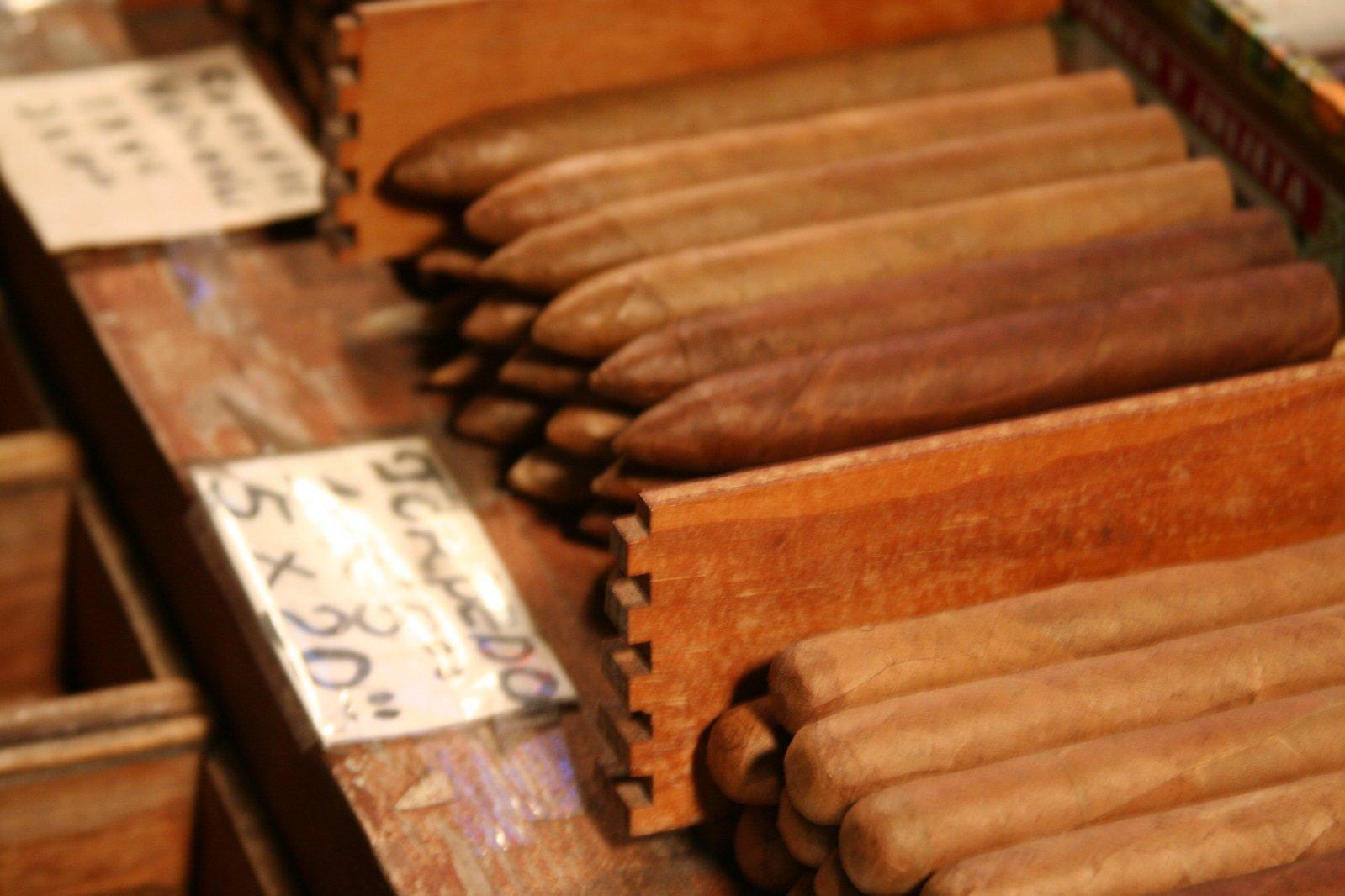 A cigar collection