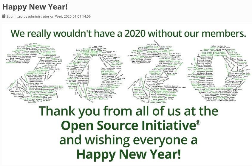 Open Source Initiative (OSI) members