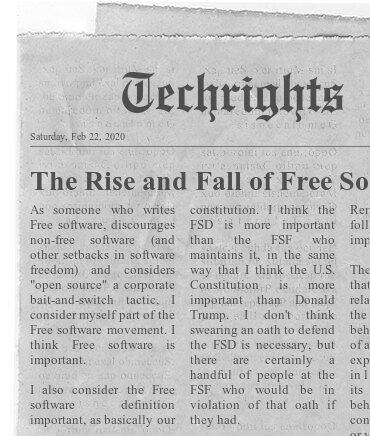 Free software headline