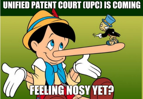 Unified Patent Court (UPC) is coming... Feeling nosy yet?
