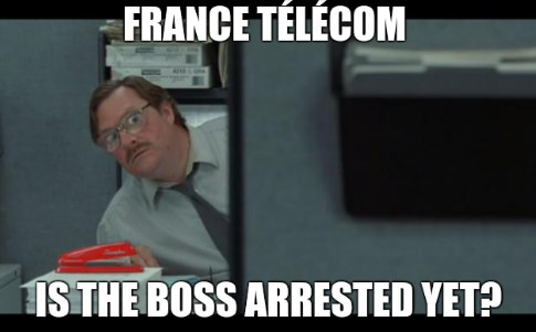 France Télécom - Is the boss arrested yet?