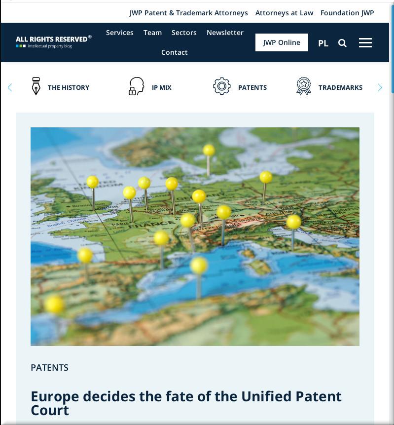 JWP Patent and Trademark Attorneys