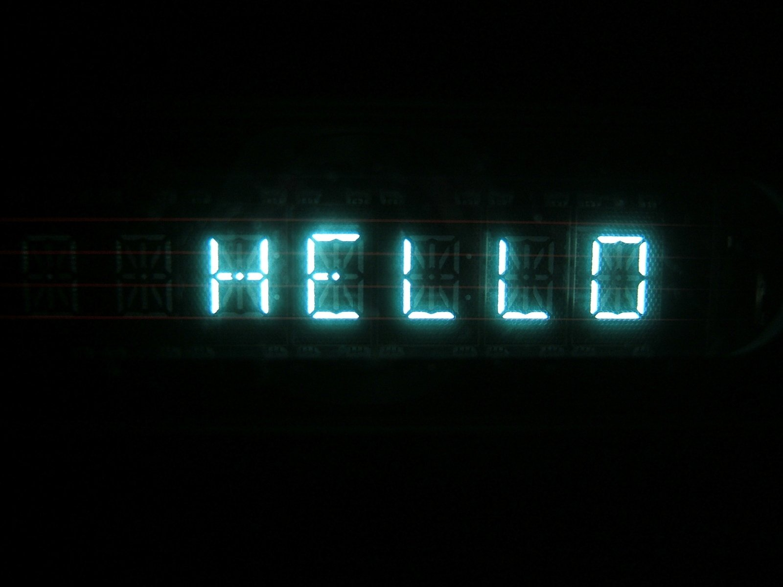 Digital hello