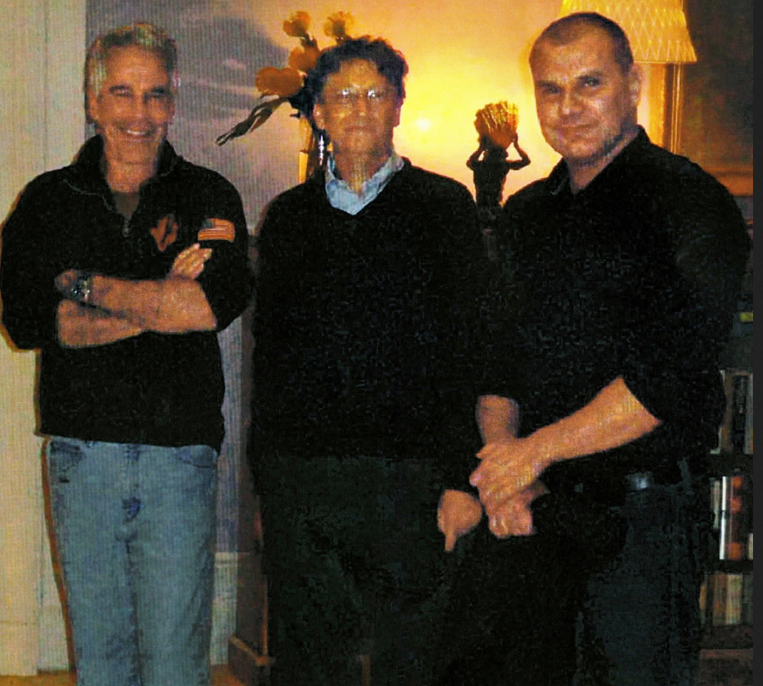 Jeffrey Epstein, Bill Gates, and Nikolic