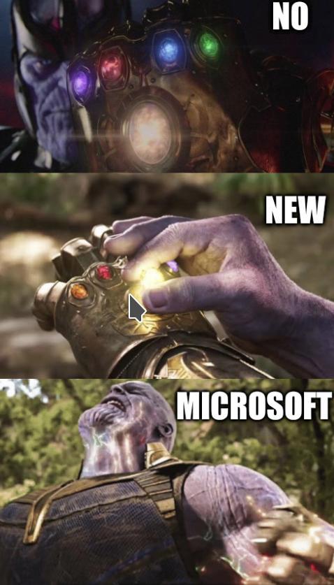 No New Microsoft