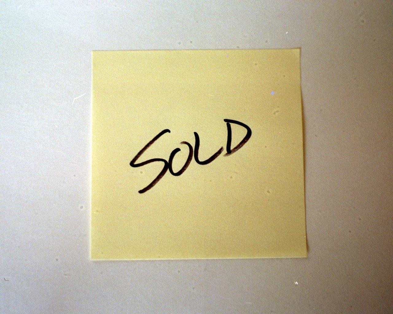 Item sold