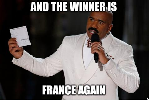 And the winner is France again
