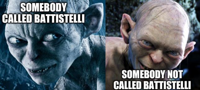 Gollum Two Face: Somebody not called Battistelli