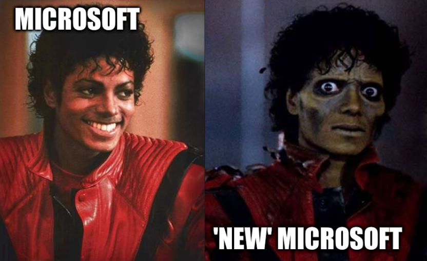 'New' Microsoft