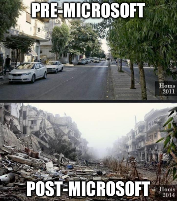 Pre-Microsoft, Post-Microsoft