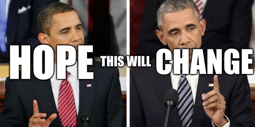 Obama: Hope this will Change
