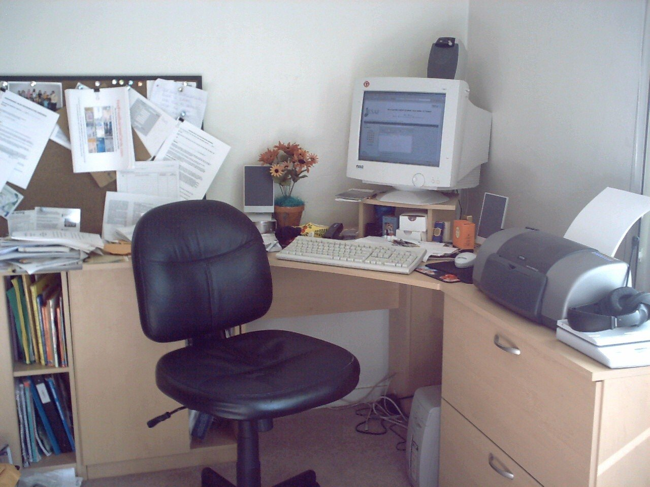 A neat desk