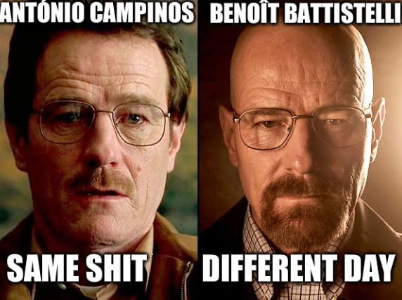 Walter White Before and After: The same shit, different day