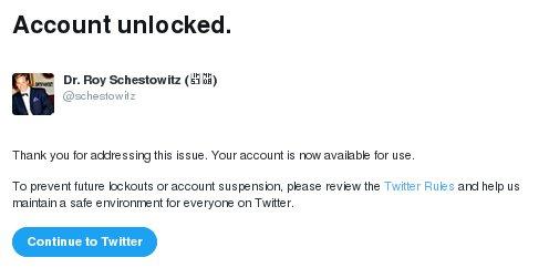 Unlocked by Twitter