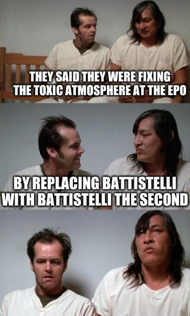 A bad joke Jack: They said they were fixing the toxic atmosphere at the EPO by replacing Battistelli with Battistelli the Second
