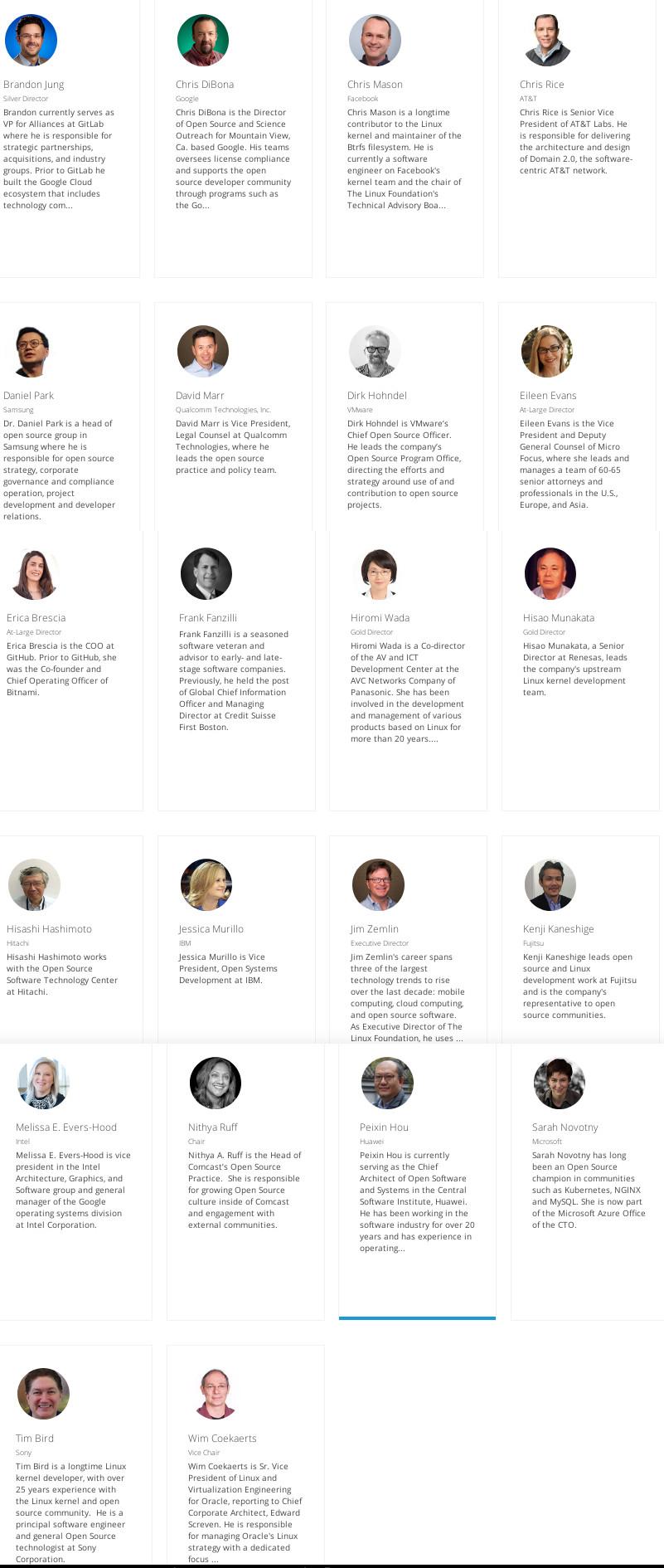 Linux Foundation Board