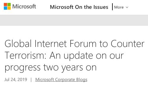 Global Internet Forum to Counter Terrorism: An update on our progress two years on