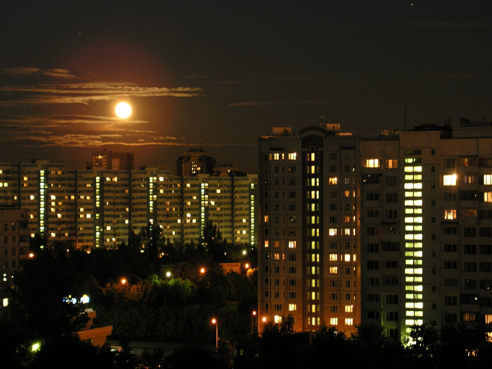 Moon Over Moscow
