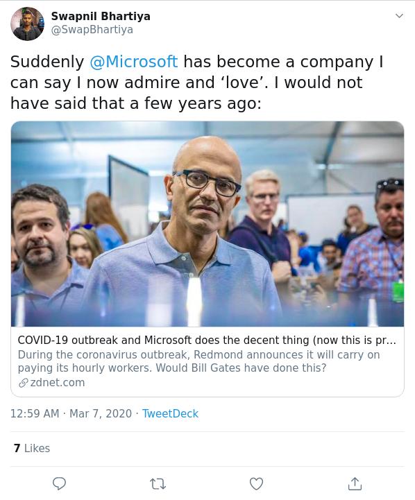 Microsoft Swapnil