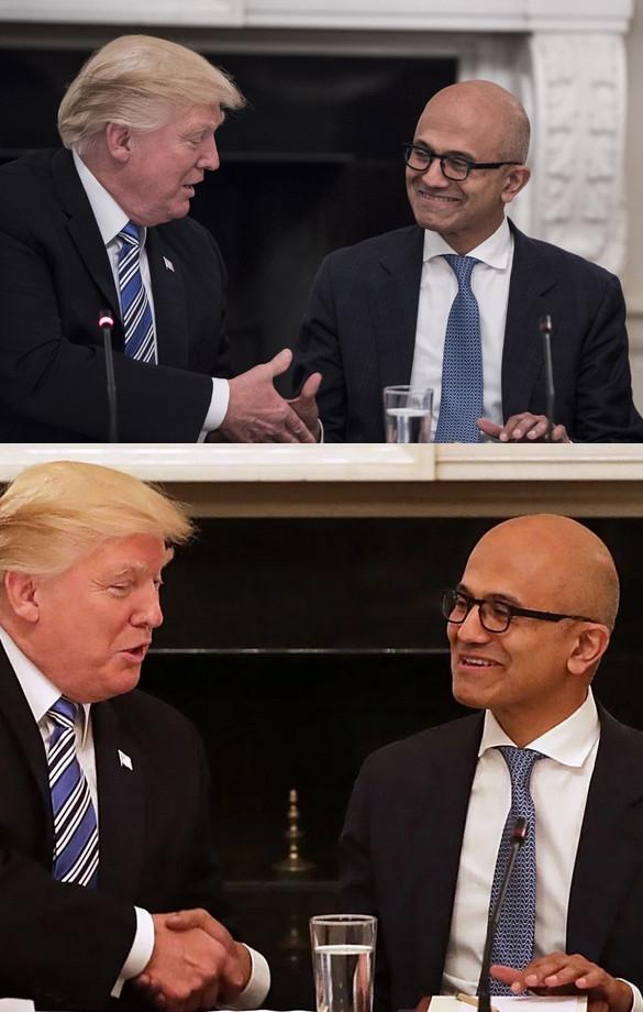 Trump Microsoft