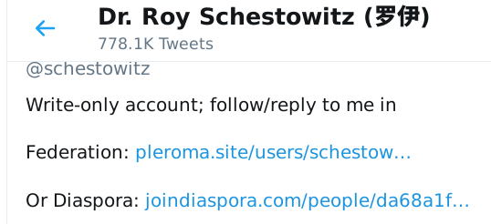 Goodbye, Twitter