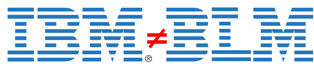 IBM is not BLM