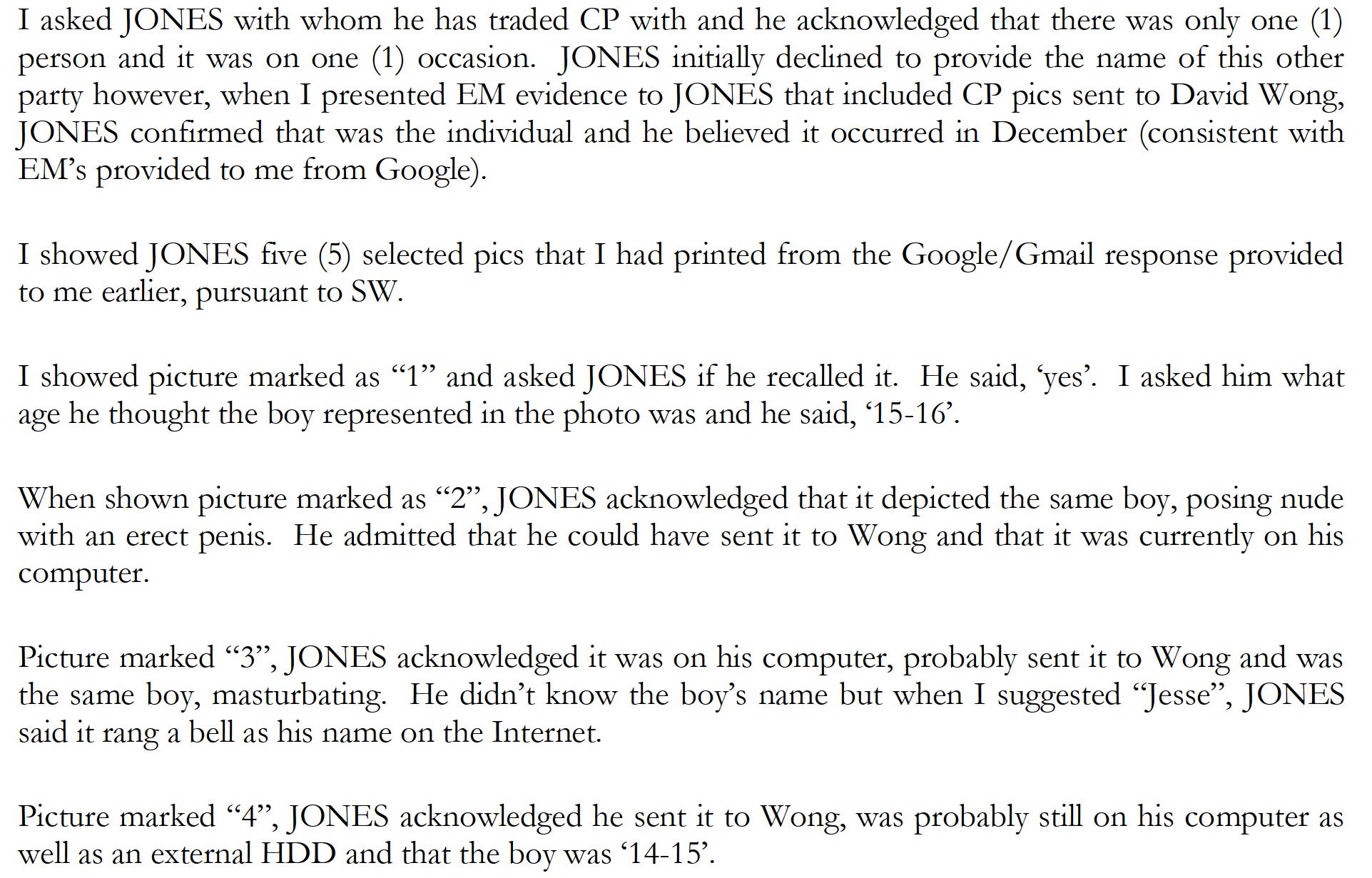 Jones admits guilt