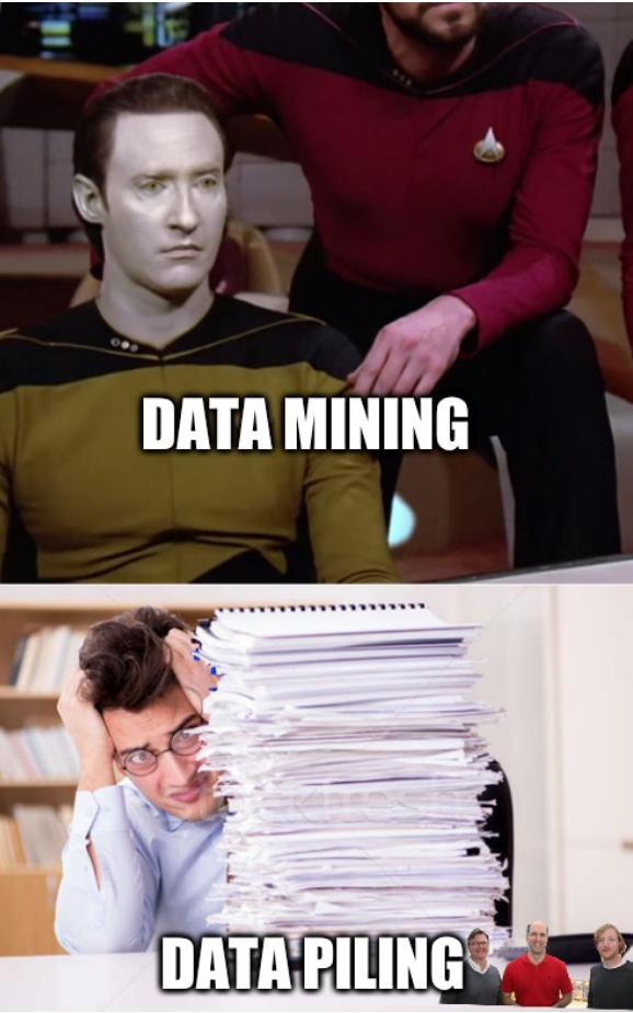 Essential Worker: Data mining; data piling