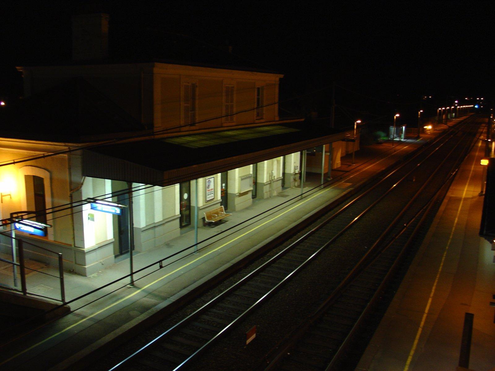 A deserted station