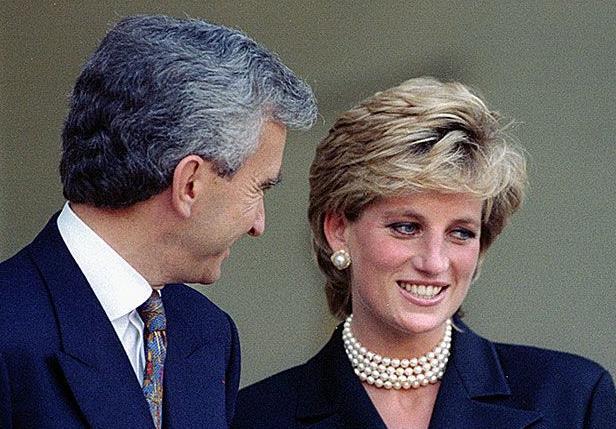 Princess Diana and Arnault