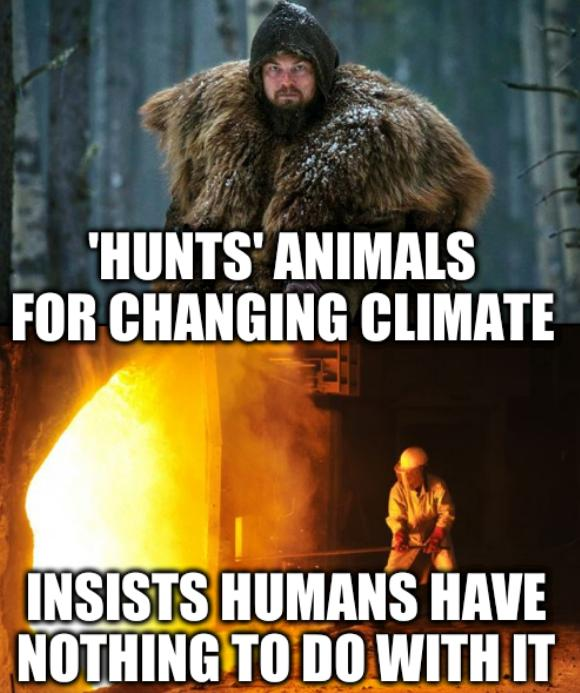 Cold Outside, Hot Inside: 'Hunts' animals for changing climate; insists humans have nothing to do with it