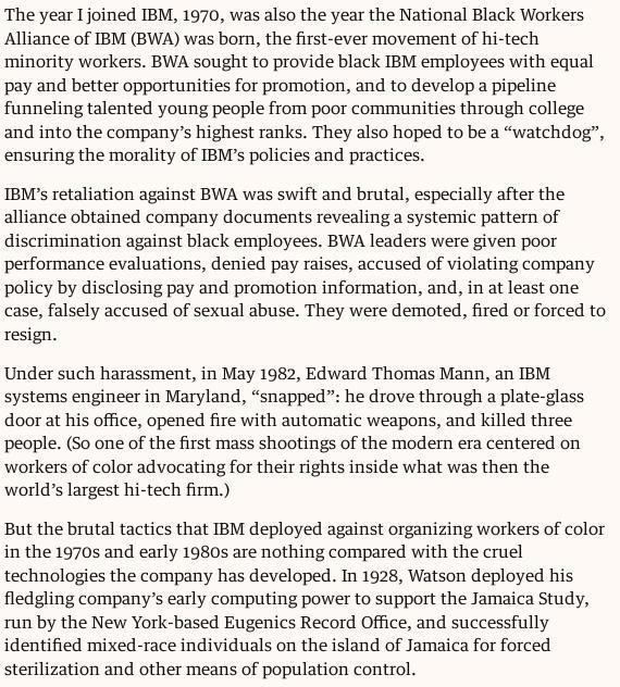 IBM blacks