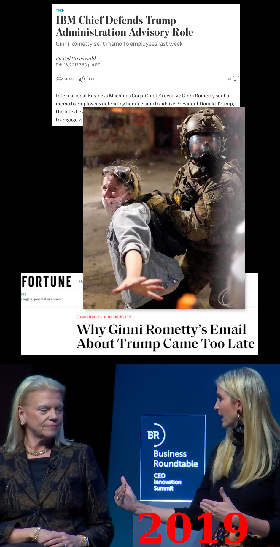 IBM and Ivanka Trump