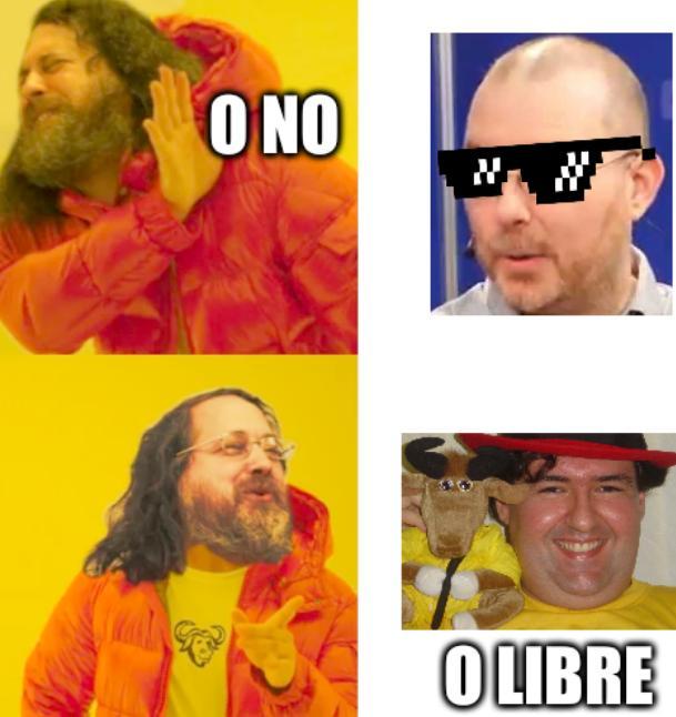 Stallman Good and Bad: O no, O libre