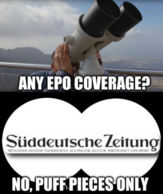 Ah, that's hot: Any EPO Coverage? No, puff pieces only