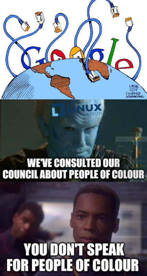 Star trek Enterprise: We've consulted our council about people of colour; You don't speak for people of colour