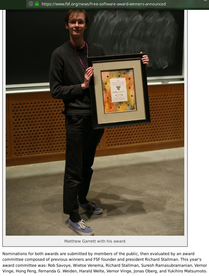 UEFI award