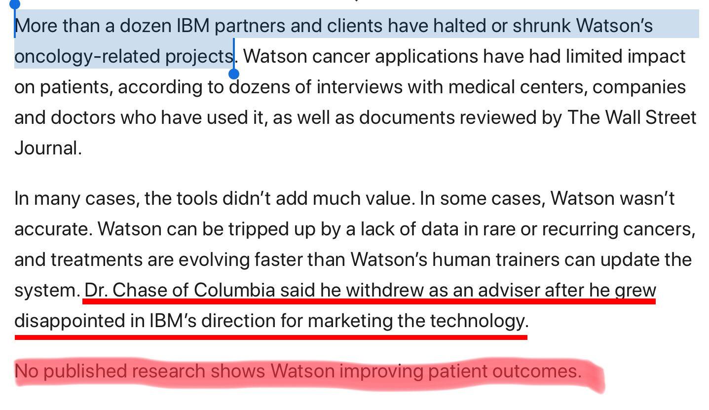 Watson hype